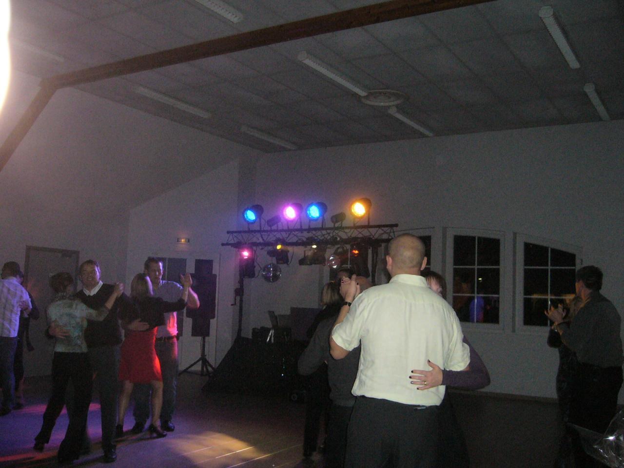 partie dansante